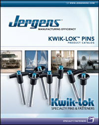 Click to view or download the Kwik-Lok Specialty Pins & Fasteners Catalog.